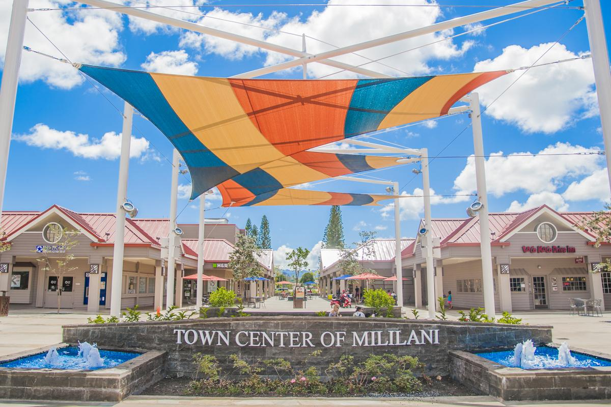 Town Center of Mililani in Hawaii