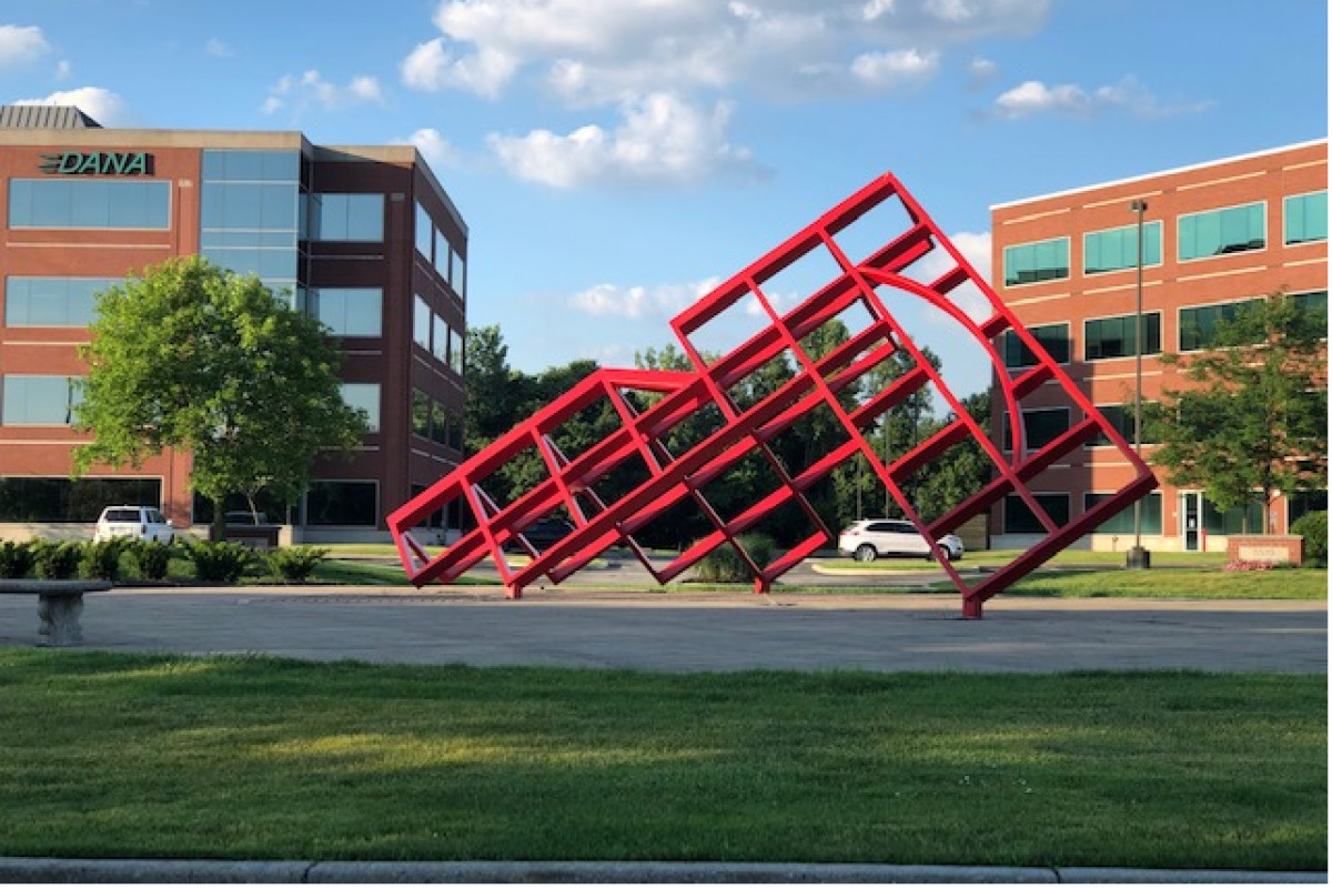 Lake Pointe III & IV Sculpture